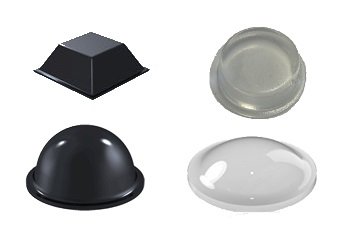 Stootdopjes zelfklevend rubber