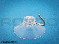 Zuignap met metalen haakje (37 mm)