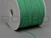 double twisted, licht groen, on rolls with 100 m