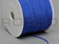 double twisted, midden blauw, on rolls with 100 m