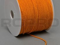 double twisted, oranje, on rolls with 100 m