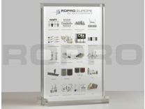 Luxe A4 plexiglas display