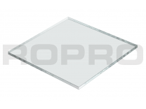 Plexiglas acrylaat plaatje XT 150x150x4mm