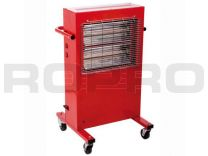 Red Rad Quartz Model 1 heater mobiel 2x1500W