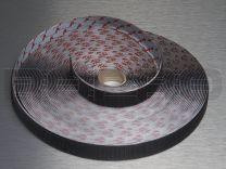 Velcro klittenband lus 25 mm zwart (PS14)