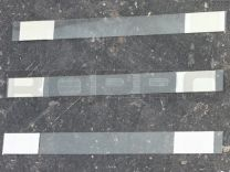 Wiebelaar 150 x 15 mm, recht, beide zijde permamente tape